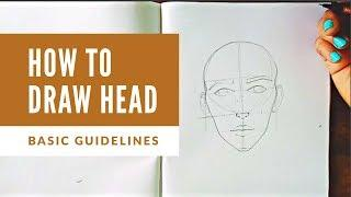 #howtodrawface HOW TO DRAW FACE - FEMALE | BASIC DRAWING SERIES NO. 4