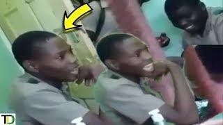SCHOOLBOY caught on VIDEO threatening FEMALE TEACHER | Teach Dem
