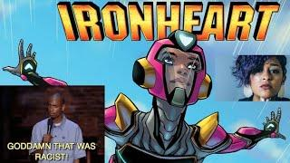 SJW Marvel Hires Writer For IRONHEART Series Based On Her Having Same Race, Gender & Haircut As Riri