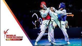 Roma 2018 World Taekwondo GP -Final [Female -49Kg] KIM, SO-HUI(KOR) Vs REIS, TALISCA(BRA)