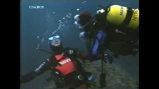 Female scuba diver gets attacked and drowned by evil diver [S.O.S. Barracuda]