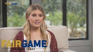 "Genie Bouchard on ""The Twirl"" and Female Athletes Being Treated Differently 