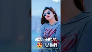 Aisa deewana new fullscreen whatsapp status female version || Fullscreen status video || Nikuviids