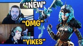 CourageJD Reacts to the *NEW* VALKYRIE SKIN in Fortnite (FEMALE RAGNAROK) Leaked