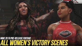 WWE 2K19: Women's Victory Scenes #WWE2K19
