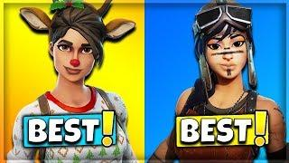 10 BEST FEMALE SKINS IN FORTNITE! (Fortnite Battle Royale)