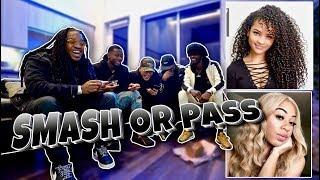 SMASH OR PASS!! (Female Youtubers) Ft. Poudi, Ty, Dub & Charc