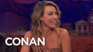 "Natalie Zea's Daughter Is The Girl From ""The Exorcist""  - CONAN on TBS"