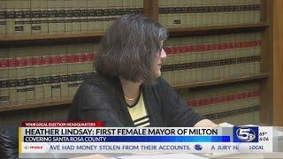 VIDEO: Milton's first female mayor speaks about her goals for the city