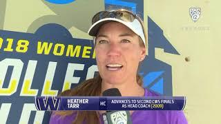 Softball: Washington relishes opportunity to advance further in WCWS