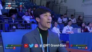 Female  49kg Semifinal   bora kang (KOR) VS Yuntao Wenren (CHN)