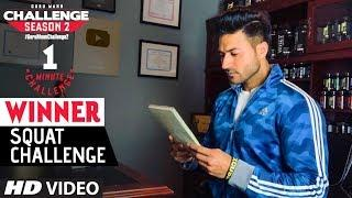 Week 4- Guru Mann Squat Challenge Winners/runner-ups | Guru Mann Challenge Series | Season 2