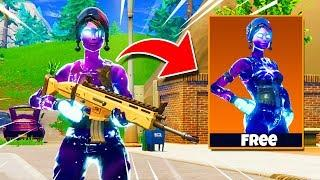 How to GET the FEMALE GALAXY SKIN FOR FREE! (Fortnite: Battle Royale)