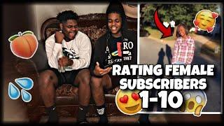 SHE'S SO CUTE????RATING FEMALE SUBSCRIBERS 1-10????????|I THINK SHE'S THE ONE???? (UNCUT & RAW EDITI