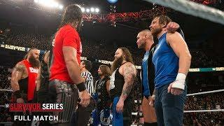 FULL MATCH - 10-on-10 Traditional Survivor Series Tag Team Elimination Match: Survivor Series 2016