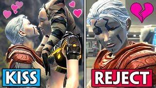 Nadia Grell Romance [Female Jedi Consular] + Rejecting Her Feelings in SWTOR, Jedi Under Siege