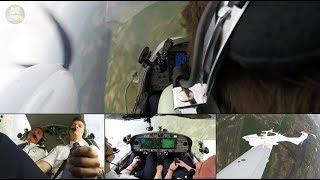 Lufthansa Aviation Training (EFA) Cadet performs great in DA42 Nose-Low Maneuver!!! [AirClips]