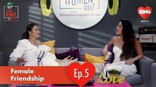Amrita Arora & Kareena Kapoor Khan on Female Friends | Dabur Amla WhatWomenWant | 104.8Ishq Promo