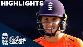 Emphatic England Win Tri-Series Trophy | England Women v New Zealand IT20 2018 - Highlights