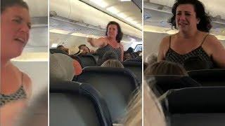 VIDEO: Woman removed from Spirit Airlines flight after profanity-laced tirade | ABC7