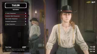Red Dead Redemption 2 - Online : ALL FEMALE OUTLAW - CLOTHING (COATS, PANTS, ECT.)