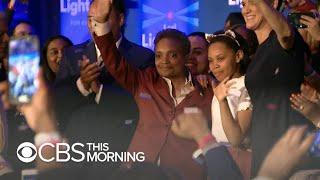 Lori Lightfoot makes history as Chicago's first black female and openly gay mayor