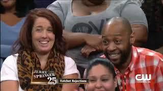 Jerry Springer Show Rapper Johnny's partner is jealous over his female fans....