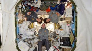 NASA's first all-female spacewalk as Koch and Meir step out to replace broken battery charger