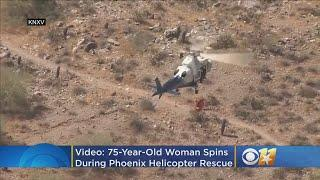 VIDEO: Woman Spins Out Of Control During Helicopter Rescue In Phoenix