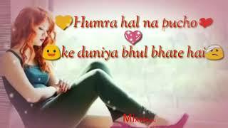 hamara haal na pucho ye duniya female | whatsapp status video song | whatsapp status sad