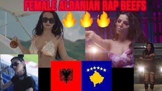 HOTTEST Albanian Female RAP BEEFS ????????EXPLAINED!! Tayna, Rina, Fifi