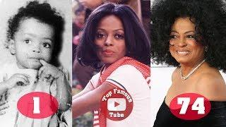 Diana Ross | Transformation From 1 To 74 Years Old