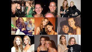 Céline Dion showing LOVE to female artists