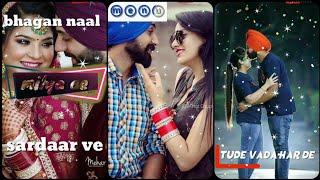 Punjabi (Female) ???? Full Screen WhatsApp Status ???? Romantic Female Fullscreen WhatsApp Status Vi