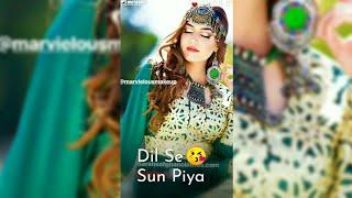 Female Version Sad + Love Song Full Screen Whatsapp Status Video || Punjabi Ringtone |Love Status 4U