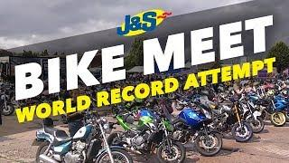 All female bike meet - world record attempt!