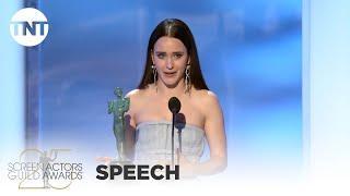 Rachel Brosnahan: Award Acceptance Speech | 25th Annual SAG Awards | TNT