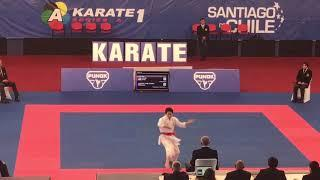 Karate 1 Series A- Female Kata- Final: Ono (JPN) vs Sanchez (ESP)