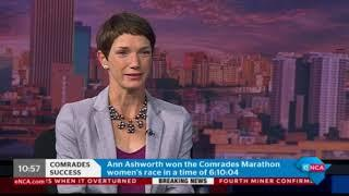 Ann Ashworth - Comrades women's winner