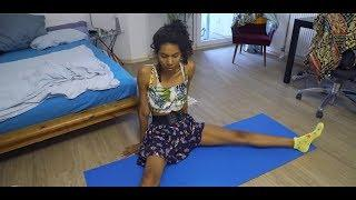 Yoga Namaste Female Fitness Cup Yoga Work out Free Class Compilation