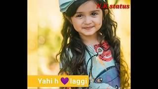 Girls status chahungi main tujhe hardam new female status || NK status video female song