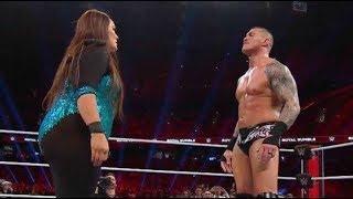 WWE Women vs Man Part 1