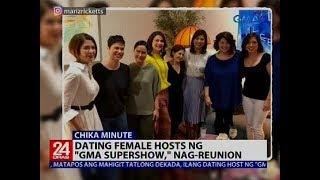 "Dating female hosts ng ""GMA Supershow,"" nag-reunion"