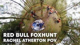 Rachel Atherton Chases Down 200 MTB Riders | Red Bull Foxhunt 2018 POV