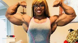 Gigantic Girl Muscles | Carla Maria Strong Female Bodybuilder