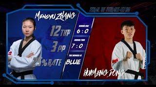 Final   Women -67kg   Mengyu ZHANG (CHN) VS Huimeng DONG (CHN)