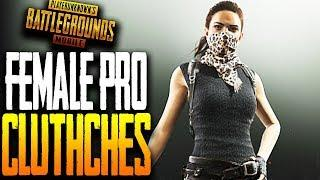 FEMALE PRO PLAYER CLUTCHES DUOS vs SQUADS in PUBG MOBILE ft Wildcard Jaylor