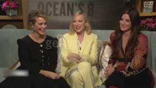 Sandra Bullock, Cate Blanchett and Sarah Paulson on women working in film