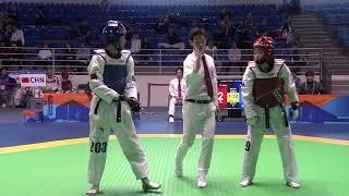 Female  49kg Quarterfinal Xueqin TAN (CHN) VS bora kang (KOR)