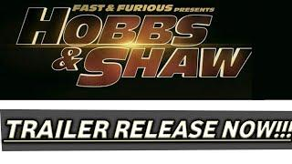 Trailer out now HOBBS & SHAW Movie | Trailer Out Now | Fast & Furious Presents : HOBBS & SHAW |